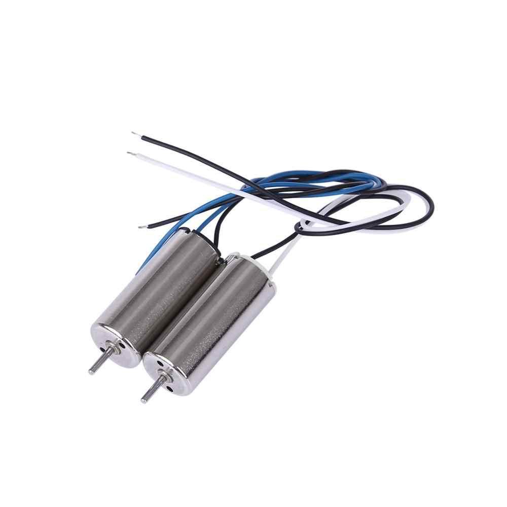 HOBBYINRC 2 pares de Motor eléctrico en sentido horario (CW) y Motor en sentido antihorario (CCW) para DJI TELLO para partes de Dron DJI