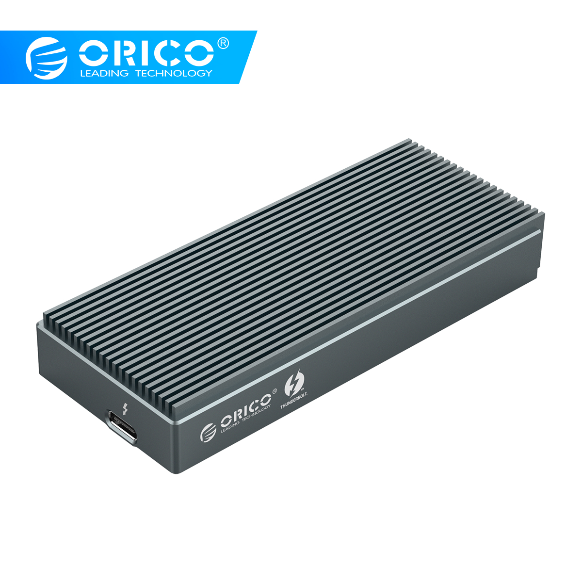ORICO Thunderbolt 3 SSD Case NVME M.2 SSD Enclosure 2TB Aluminum USB C With 40Gbps Thunderbolt 3 C To C Cable For Laptop Desktop
