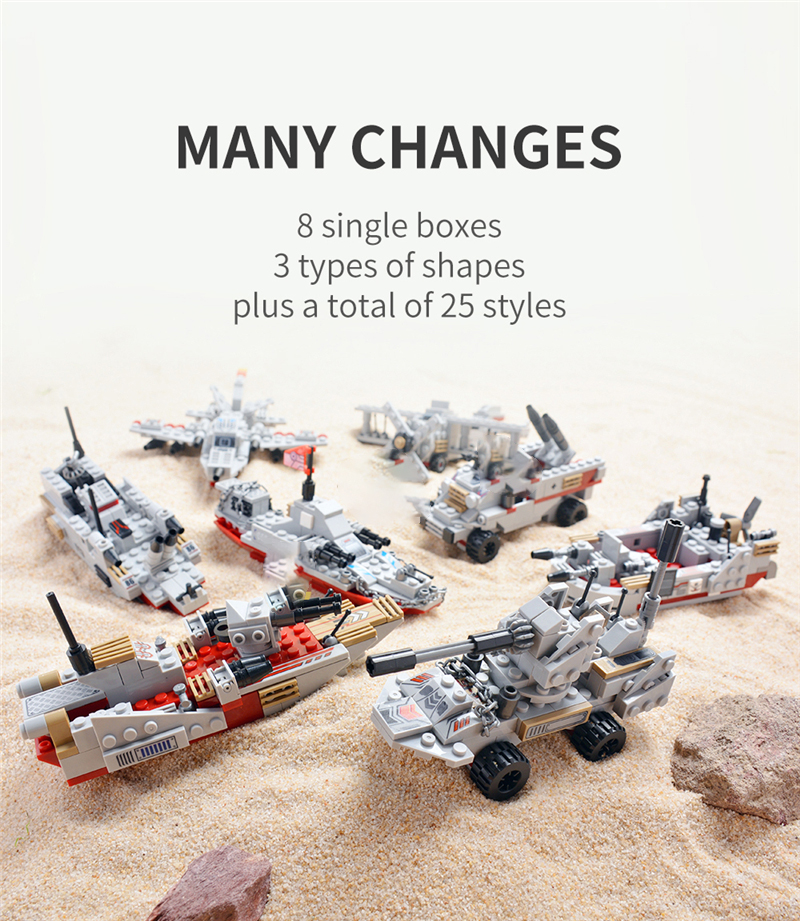 1000+ PCS Military Warship Navy Aircraft Army Figures Building Blocks LegoINGlys Army Warship Construction Bricks Children Toys (5)