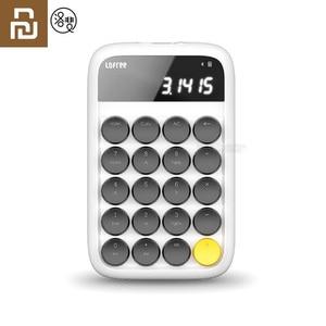 Image 1 - Youpin Lofreeบลูทูธแป้นพิมพ์ตัวเลขรองรับระบบMulti Backlitแป้นพิมพ์Micro USB 800mAhเครื่องคิดเลขสมาร์ท