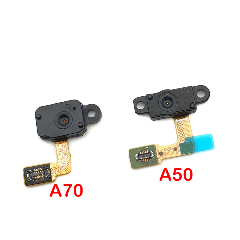 For Samsung Galaxy A50 A505FN A70 A705F Fingerprint Sensor Home Return Key Menu Button Flex Ribbon Cable
