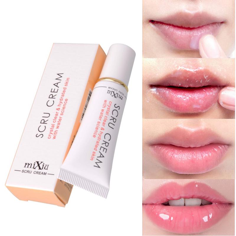 Lip Care Shea Butter Lip Scrub Cream Lipbalm Nourishing Moisturizing Exfoliating Lip Balm Remove Dead Skin Cosmetics Tools