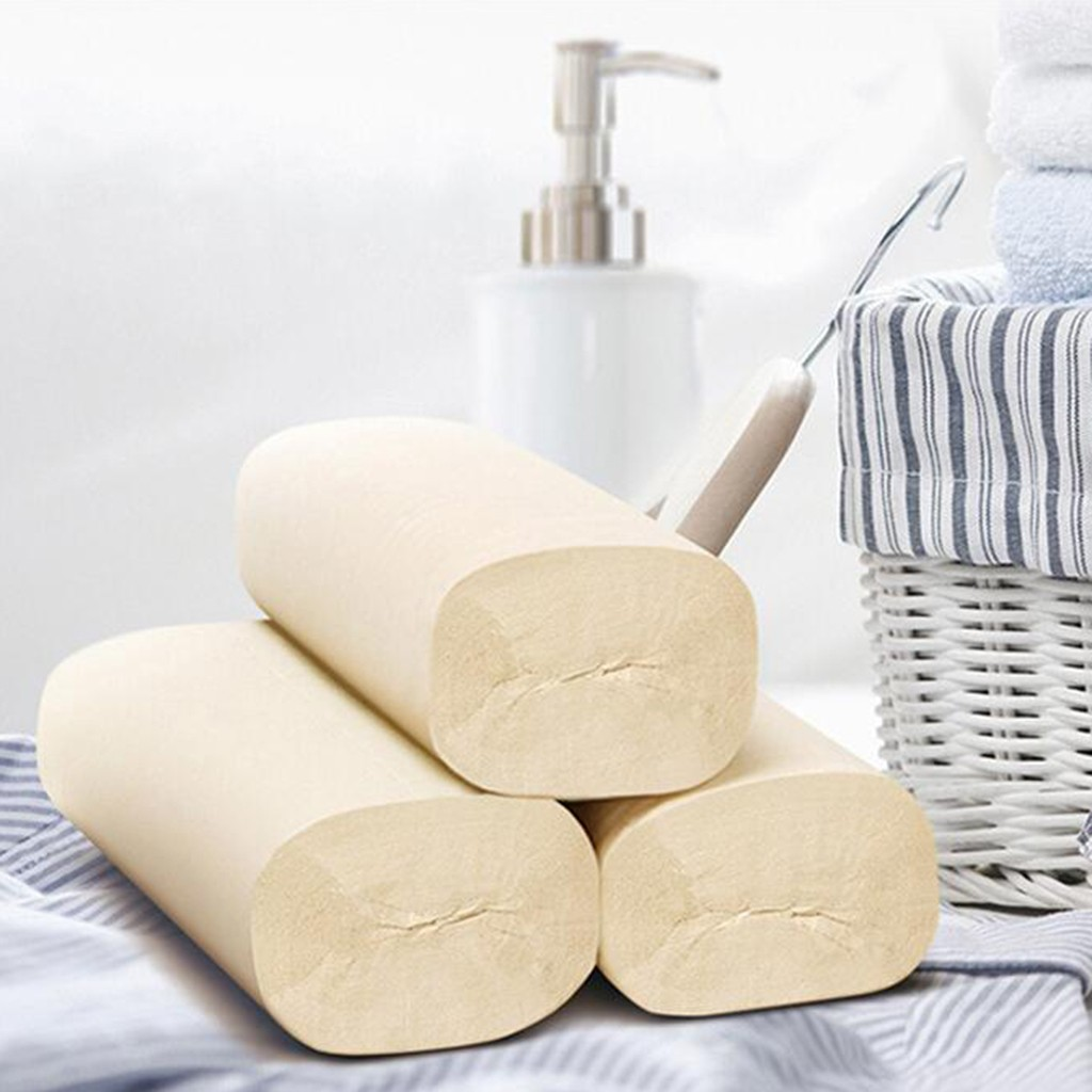 12 Rolls Smooth Soft Professional Series Premium 4-Ply Toilet Paper Home Kitchen Primary Bamboo Pulp Toilet Tissue Paper Towels3