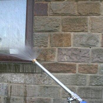 New Car Garden Washer Gun High Pressure Washer Water Gun 2 Spray Tips Nozzle Long Bent Pole Water Hose Cleaning Tool Garden Wate