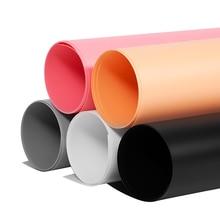 купить Dual-sided Matte Anti-wrinkle Photography Backdrop PVC Material Board for Photo Studio Photography Background Equipment дешево