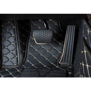 Кожаные автомобильные коврики для Chevrolet Captiva Sonic Sail Spark Aveo Cruze Blazer epica Camaro Equinox Cavalier Trax foot