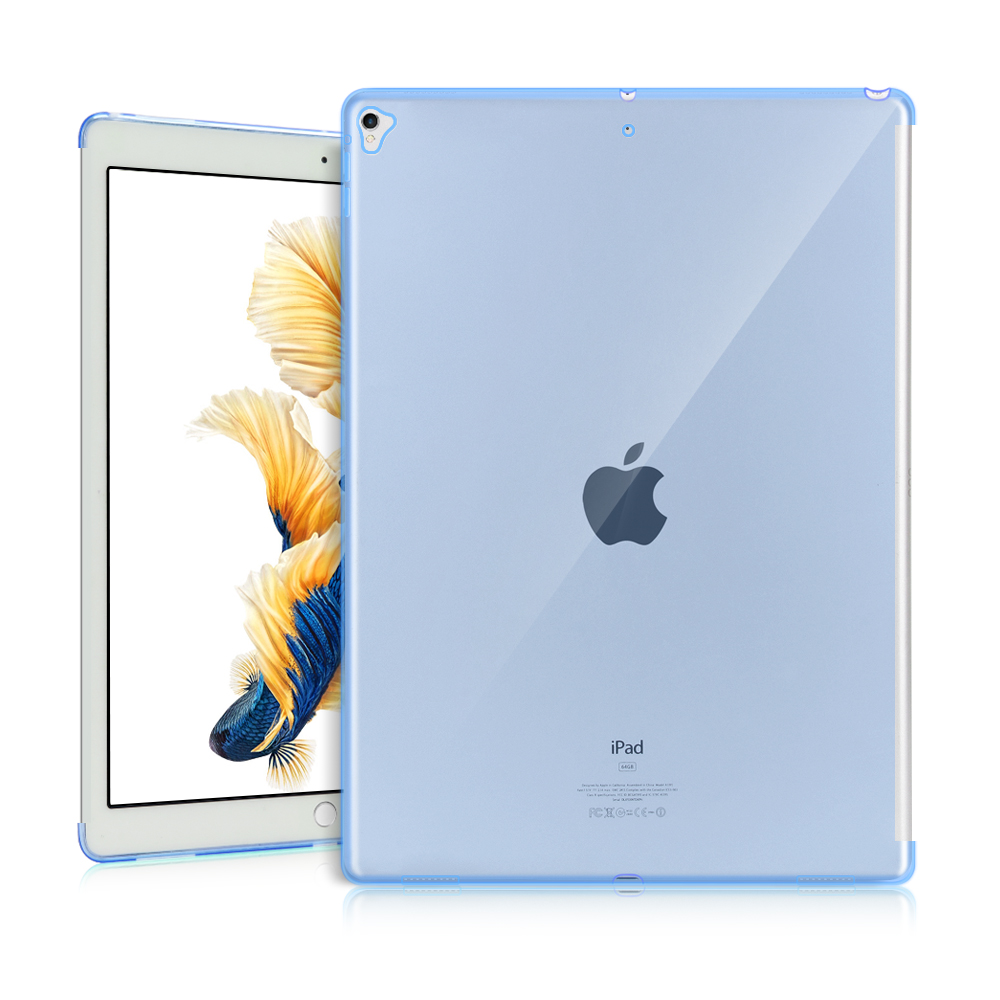 For iPad 10 2 2020 Case Shockproof Soft TPU Transparent Silicone Cover for iPad 10 2