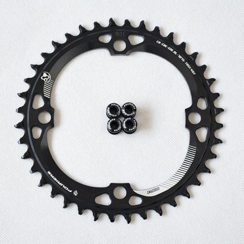​ MTB Bike <font><b>120BCD</b></font> Narrow Wide Chainring Circle Single Speed 36T 38T 40T Assembly image