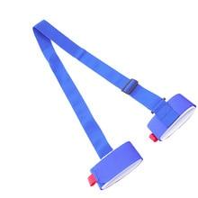 Snowboard-Shoulder-Strap Skiing Portable for Outdoor Blue Blue