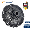 VG Sport Mountainbike MTB 12 Speed Cassette 12 Velocidade 12 S 52T Fiets Onderdelen Zwart Cassete Vrijloop Tandwiel cdg Cog 724g