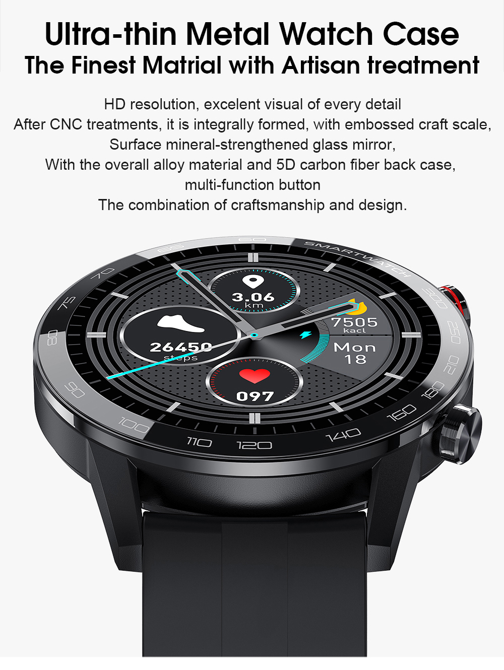 H73bcbae2617941dd977ca7c91ead5fdc9 Reloj Inteligente Hombre Smartwatch Ecg Ppg IP68 Smarthwatch Men Full Touch Smart Watch 2020 For Huawei Xiaomi Android Apple IOS