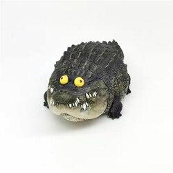 Véritable vide création crocodile graisse résine version pas deux oncle