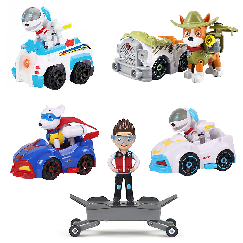Hot Sell Paw Patrol Dog Tracker Everest Anime Figures Puppy Patrol Anime Kids Toys Action Figure Model Children Gifts
