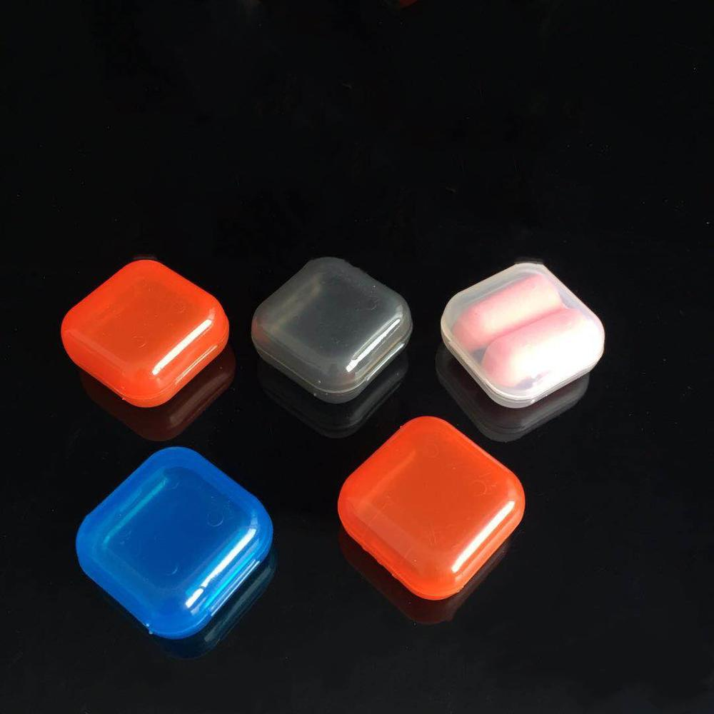 Clear Plastic Mini Small Box Jewelry Earplugs Storage Box Case Container <font><b>Bead</b></font> Makeup Transparent <font><b>Organizer</b></font> Gift boxes image