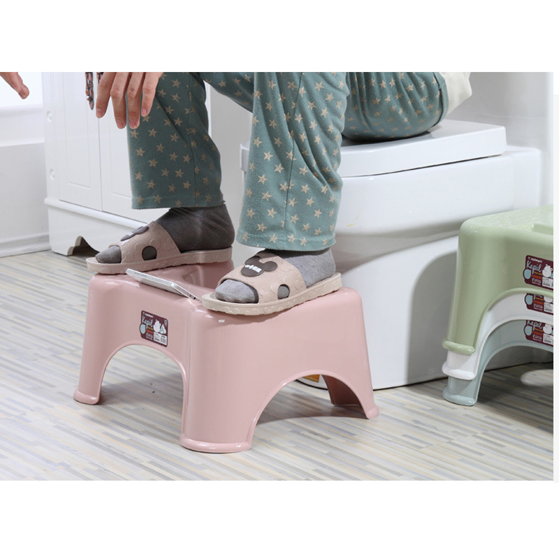 Home Squatting Stool Bathroom Squat Toilet Stool Compact Squatty Potty Stool Portable Step Seat For Home Bathroom Toilet