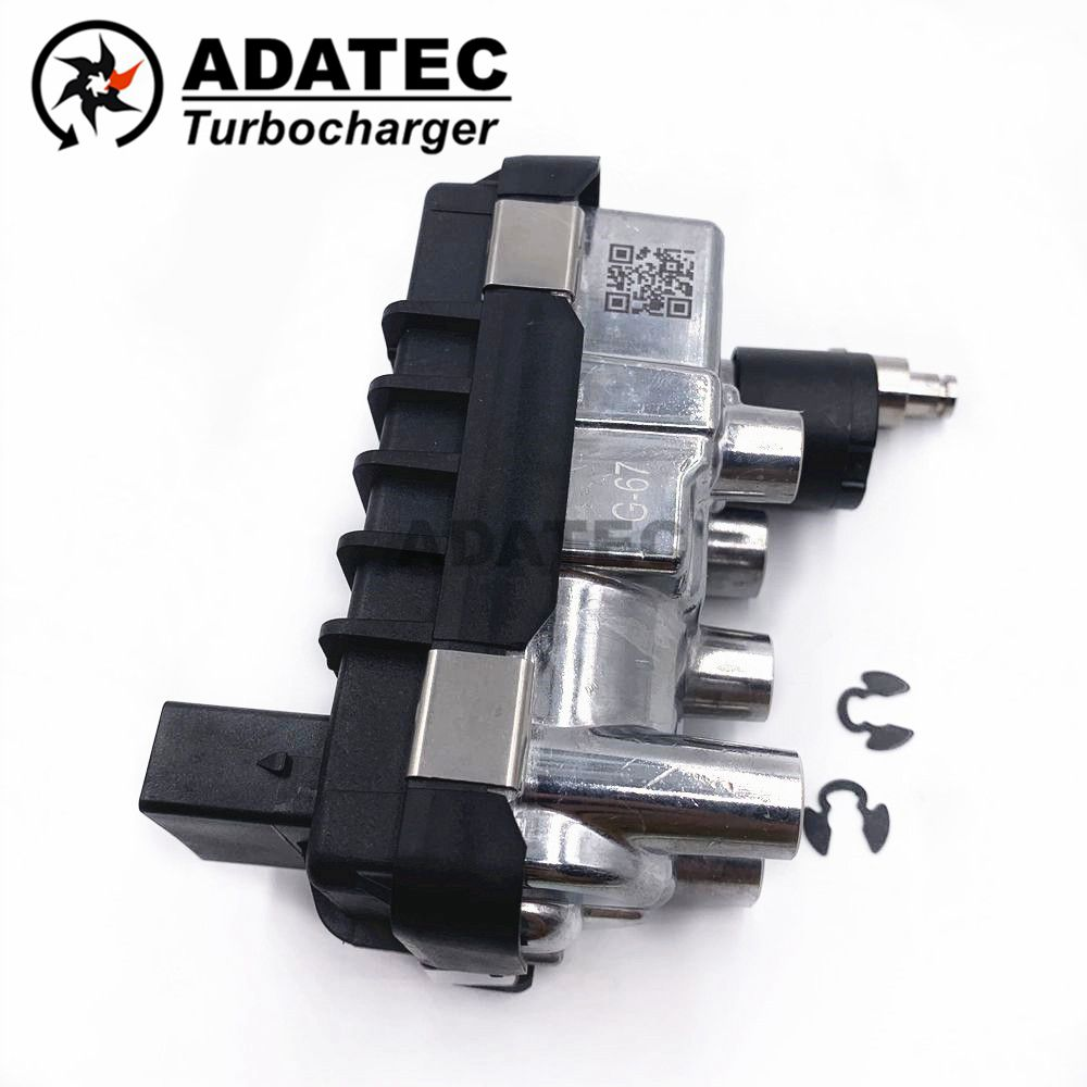 Turbo Electric Actuator G 67 G 067 G67 800089 electronic wastegate 767649 6NW009550 for Land Rover Range Rover 4.4 L TDV8 AJD V8 turbo electric garrett turbo electric turbo - title=