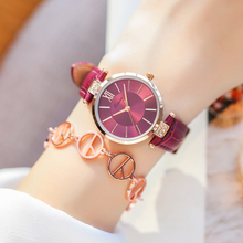 KIMIO Thin Rose Gold Watches Women Fashion Woman Watch 2019 Simple Clock Diamond Casual Dress Quartz Womens Wristwatch
