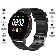eyefun Smart bracelet new men and women full touch screen watch heart rate blood pressure sports step monitoring smart watch