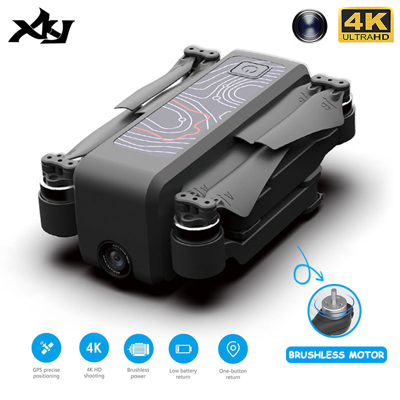 Permalink to XKJ Gps Drone iCAMERA2 With Wifi FPV HD 4K Camera Professional Brushless Foldable Quadcopter  RC Dron For Kids Gift