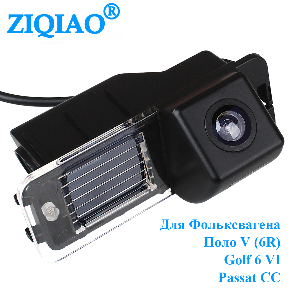 Car Rear View Camera Vehicle Dedicated Camera Wide Angle Reverse Parking For Volkswagen Polo V (6R) / Golf 6 VI / Passat CC