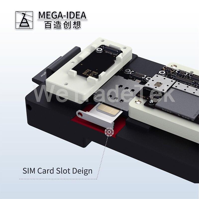 Tools : Qianli Mega-idea Phone X-11ProMax Motherboard Fixture iSocket Jig Logic Board Fast Test Holder for Mainboard Repair