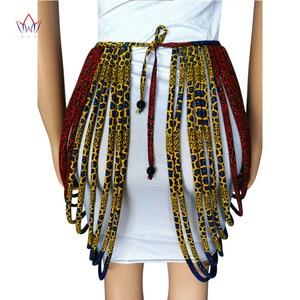 Image 4 - 2020 アフリカアンカラ手作りストラップネックレスファッションアクセサリージュエリーギフトafircan生地プリントネックレスショールSP002