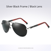 Silver Black- Black