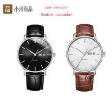 2colors Youpin TwentySeventeen Light Mechanical Watch With Sapphire Surface And Leather Strap Business Watch for Men