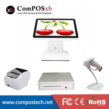 ComPOSxb best selling pos system high quality pos all in one for supermarket/retail