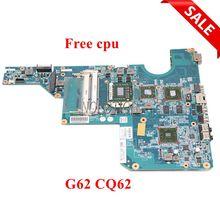 NOKOTION 597673-001 610160-001 610161-001 материнская плата для ноутбука hp CQ62 G62 гнездо S1 DDR3 процессор