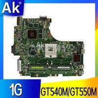 AK N53SV 노트북 마더 보드 ASUS N53SV N53SN N53SM N53S N53 테스트 메인 보드 GT540M/GT550M 1GB