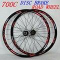 Pasak 700C R35 Сверхлегкий 1700 г обод 30 мм дисковый тормоз колесная пара велосипеда беговые колеса велосипеда V/C тормоз