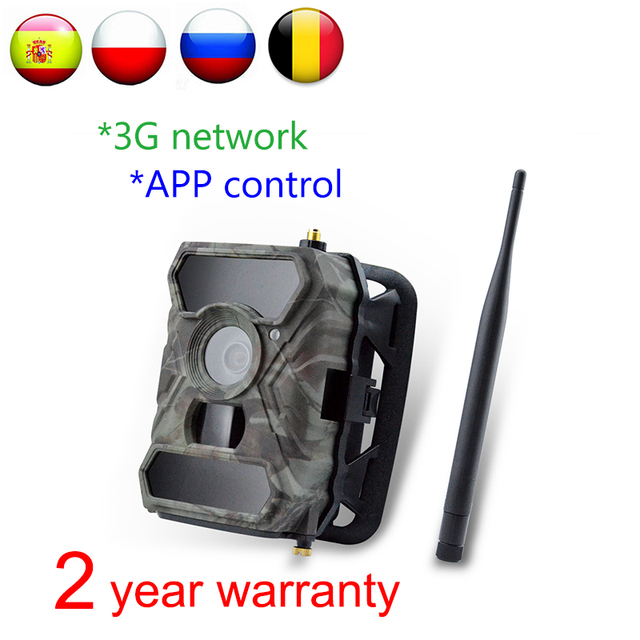 Willfine 3.0CG 3G Trail Cameras SMTP Wildlife Scouting Camera 3G  Hunting Camera with APP control 3G Forest Cameras