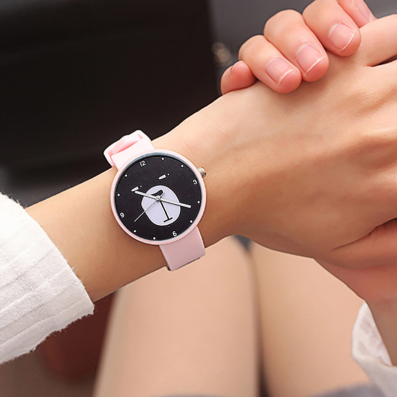 Cute Bear Face Style Girl Quartz Watches Children Watch Fashion Child WristWatch Kids Clock Gift For Boys Girls Relogio Infantil