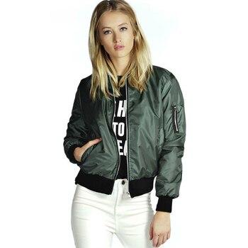 2020 Women's Jacket Flight Coat Biker Casual Loose Tops Clothes Outwear Bomber Jacket Windbreaker Tops Long Sleeve Coats Basic