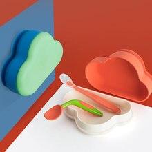 1 шт силиконовая миска для детского питания Детская пищевая