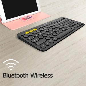 Image 2 - Clavier sans fil Bluetooth multi périphériques Logitech K380 Ultra Mini muet pour Mac Chrome OS Windows pour iPhone iPad Android
