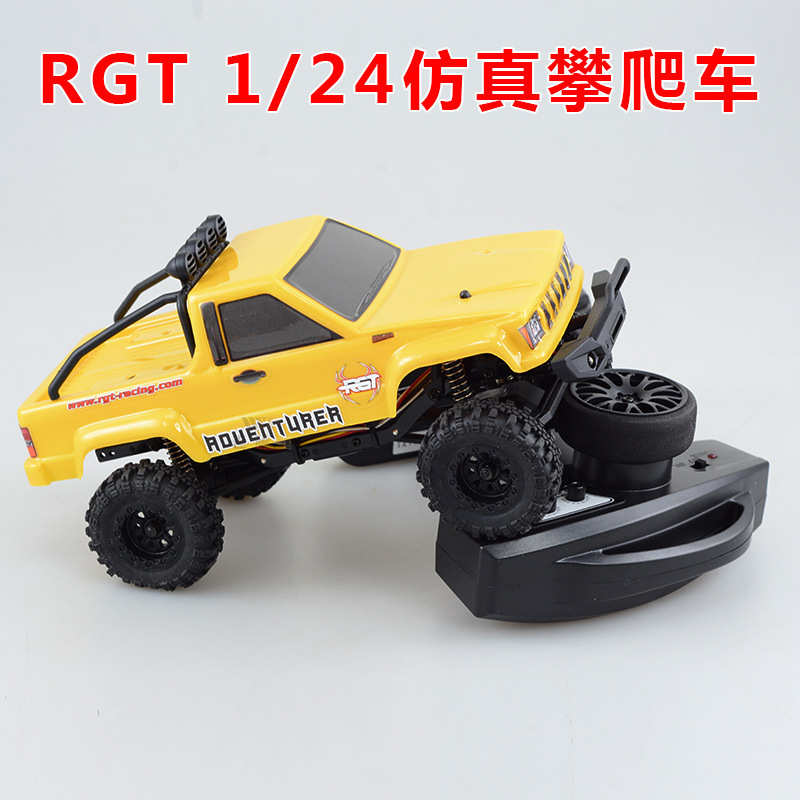 Rgt Ruitai 1/24 Mini Simulation To Climb Off road Vehicle Skin Truck Rtr Adult Alloy Vehicle Model - 3