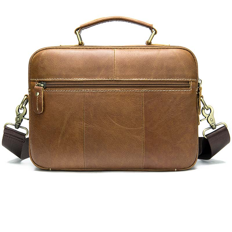 Brown  Work Hand Business Office Male Messenger Bag Men Briefcase For Document Laptop Computer Handbag  2019