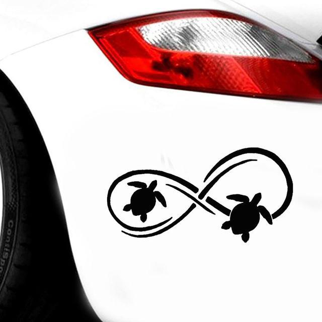 Car Sticker Sea Turtle Pattern Car Vehicle Body Bumper Window Decals Sticker Decoration Auto Tuning Styling 1