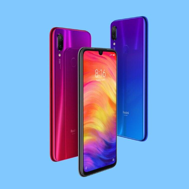 "Global Version Xiaomi Redmi Note 7 4GB 64GB Smartphone Snapdragon 660 Octa Core4000mAh 6.3"" 48MP Dual Camera Mobile Phone 3"