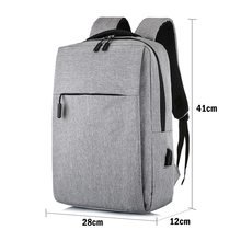 Backpack Usb Men Backpack For 16inch Laptop Backbag Travel Daypacks Male Schoolbag Leisure Anti Theft 4 Colors(China)