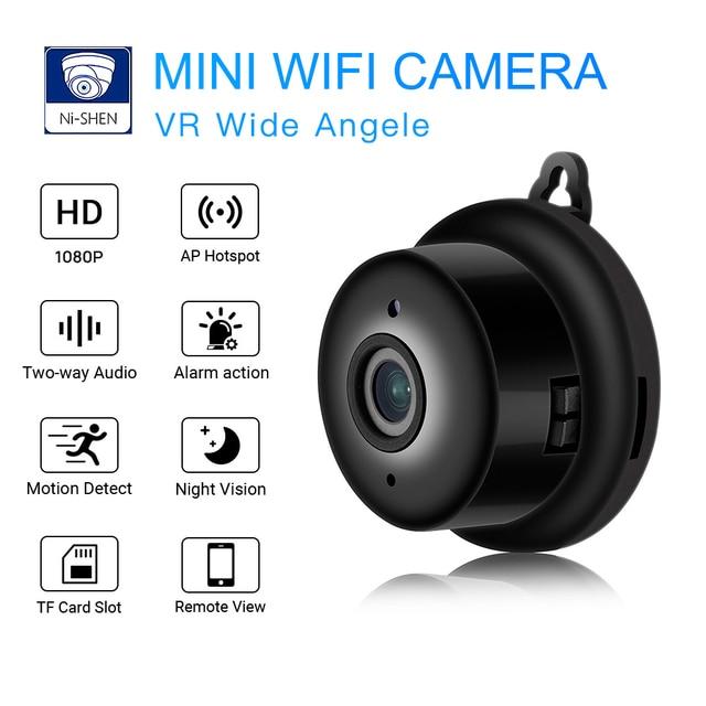 Wifi Kamara Smart Chiki Ku Night Vision HD Video Motion Sensor Secret Cam 1