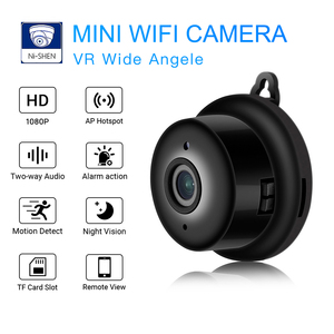 Mini Wifi Camera Smart Auto IR-Cut Night Vision HD Video Motion Sensor Secret Micro Cam IP P2P Security Home Surveillance Webcam(China)