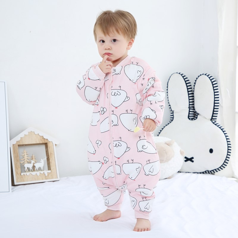 Thicken 0-6Y Winter Baby Slaapzak Infant Sleeping Bag Kids Wrap Swaddling Jumpsuits Sleepsack Spring Children Onesies Sleep Sack