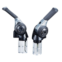 New Microshift TT Bar End 11 Speed Shifter BS A11 MTB Shifters Road Bike Shift Bicycle 9/10/11 Speed Compatible for Shimano