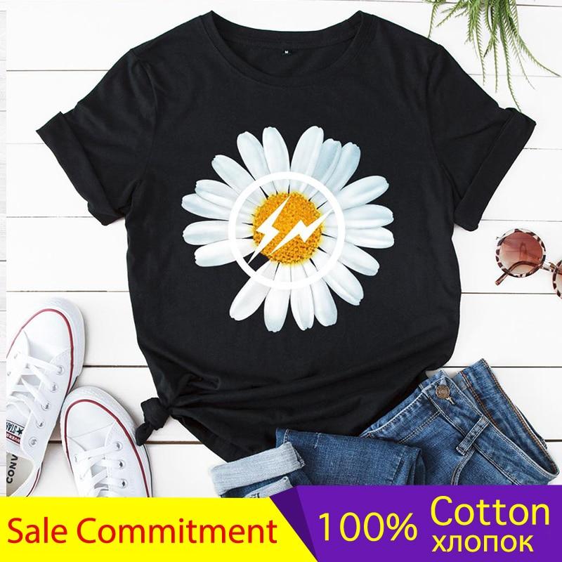 Женская футболка, летняя хлопковая футболка, топы, графические футболки, Женская Harajuku Повседневная дышащая футболка с короткими рукавами|Футболки|   | АлиЭкспресс