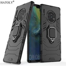 For Huawei Mate 30 Pro Case Cover for Finger Ring Phone PC Shell Armor 5G