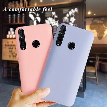 Funda de silicona suave para Huawei Honor 20 lite MAR-LX1H para Huawei Honor 10i 10 i Honor10i funda a prueba de golpes