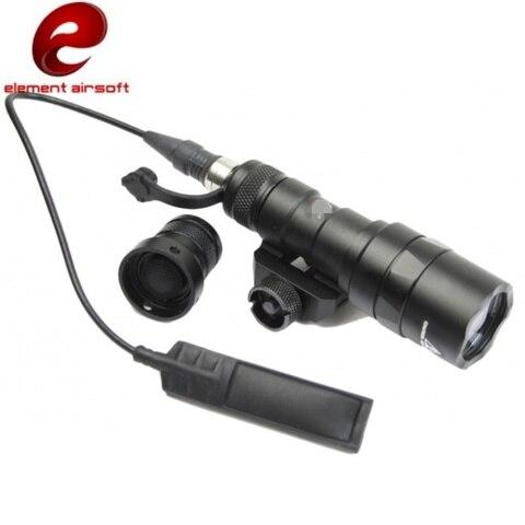 elemento airsoft arma m300b mini olheiro luz levou lanterna arma softair pistola de ar rifle